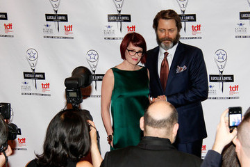 Nick Offerman 29th Annual Lucille Lortel Awards - Arrivals