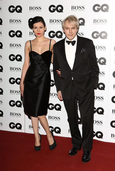 Arrivals at the GQ Men of the Year Awards — Part 4 [clothing,dress,carpet,formal wear,suit,red carpet,little black dress,tuxedo,premiere,event,red carpet arrivals,nick rhodes,nefer suvio,gq men of the year awards,awards,england,london,the royal opera house,gq men of the year]