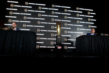 Nick Saban College Football Playoff - Head Coaches News Conference