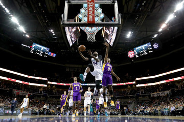 Nick Young Los Angeles Lakers v Charlotte Hornets