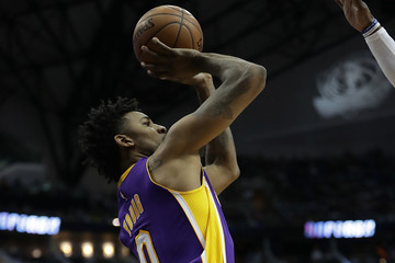 Nick Young Los Angeles Lakers v Dallas Mavericks
