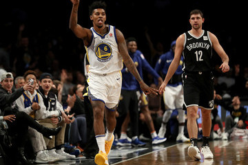 Nick Young Golden State Warriors v Brooklyn Nets