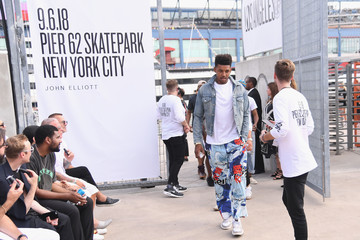 Nick Young John Elliott - Front Row - September 2018 - New York Fashion Week: The Shows