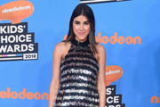 Daniella Monet attends Nickelodeon's 2018 Kids' Choice Awards at The Forum on March 24, 2018 in Inglewood, California.