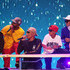 Pharrell Williams Chad Hugo Photos - (L-R) Shay Haley, Pharrell Williams and Chad Hugo perform onstage at Nickelodeon's 2018 Kids' Choice Awards at The Forum on March 24, 2018 in Inglewood, California. - Nickelodeon's 2018 Kids' Choice Awards - Show