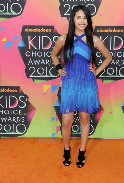 Jasmine V Singer Jasmine V arrives at Nickelodeon's 23rd Annual Kid's Choice Awards held at UCLA's Pauley Pavilion on March 27, 2010 in Los Angeles, California.