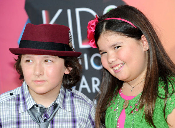 Madison De La Garza Frankie Jonas and actress Madison De La Garza arrive at Nickelodeon's 23rd Annual Kid's Choice Awards held at UCLA's Pauley Pavilion on March 27, 2010 in Los Angeles, California.