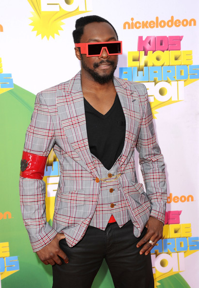 Singer will.i.am of the Black Eyed Peas arrives at Nickelodeon's 24th Annual Kids' Choice Awards at Galen Center on April 2, 2011 in Los Angeles, California.
