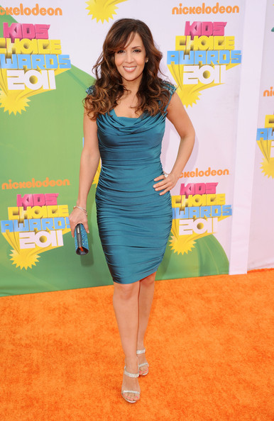 Actress Maria Canals-Barrera arrives at Nickelodeon's 24th Annual Kids' Choice Awards at Galen Center on April 2, 2011 in Los Angeles, California.