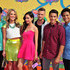 Azim Rizk Cameron Jebo Photos - (L-R) Actors Azim Rizk, Ciara Hanna, Christina Masterson, Cameron Jebo, Andrew Gray, and John Mark Loudermilk of Mighty Morphin Power Rangers attend Nickelodeon's 27th Annual Kids' Choice Awards held at USC Galen Center on March 29, 2014 in Los Angeles, California. - Nickelodeon's 27th Annual Kids' Choice Awards - Arrivals