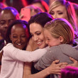 Angelina Jolie Brings Her Daughters to the Kids Choice Awards