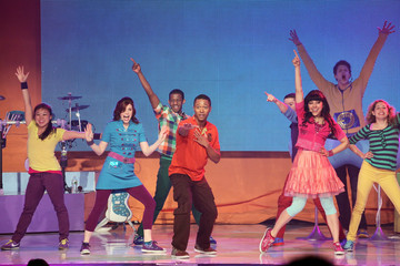 Tara Perry Nickelodeon's The Fresh Beat Band Performs At Their Sold-Out Concert At The Best Buy Theatre In New York City