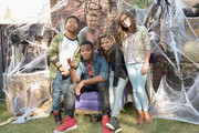The cast of Nickelodeon's Game Shakers greet kids and fans at a special Halloween-themed event at the Nickelodeon Animation Studio in Burbank, Calif., for a sneak peek of a spooky episode of the animated series Harvey Beaks as well as new clips from Bella and the Bulldogs, Game Shakers and the movie Liar, Liar, Vampire, on October 6, 2015 in Burbank, California. Liar, Liar, Vampire will premiere in October.
