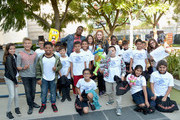 Bella and the Bulldogs star Brec Bassinger and the cast of Nickelodeon's Game Shakers greet kids and fans from Boys & Girls Club of Burbank & Greater East Valley at a special Halloween-themed event at the Nickelodeon Animation Studio in Burbank, Calif., for a sneak peek of a spooky episode of the animated series Harvey Beaks as well as new clips from Bella and the Bulldogs, Game Shakers and the movie Liar, Liar, Vampire, on October 6, 2015 in Burbank, California. Liar, Liar, Vampire will premiere in October.