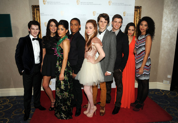 Nickelodeonu0027s House Of Anubis Cat At 2012 Childrenu0027s BAFTA Awards