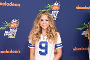 Brec Bassinger - All of the Looks at the Nick Kids' Choice Sports Awards