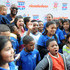 Benjamin Flores Jr Curtis Harris Jr. Photos - Amani Toomer,  Amani Toomer Jr, Jasmine Toomer, Amber Montana, Breanna Yde, Benjamin Flores Jr and Curtis Harris Jr attend the NYRoad Runner Club in Times Square host Nickelodeon themed 5 borough relay race on September 20, 2013 in New York City. - Nickelodeon and Road Runners in Times Square