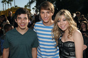 "(L-R) David Archuleta, Lucas Cruikshank and Jennette McCurdy attend Nickelodeon's ""Fred: The Movie"" premiere screening event at Paramount Theater on September 11, 2010 in Hollywood, California. Based on one of the most popular internet characters of all time, the original film follows Fred's quest to win over his unrequited love, Judy. ""Fred: The Movie"" premieres Saturday, September 18 at 8:00 p.m. (ET/PT) on Nickelodeon."