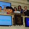 Heather Brown Nickelodeon Visits the NYSE to Celebrate 10 Years of Dora the Explorer