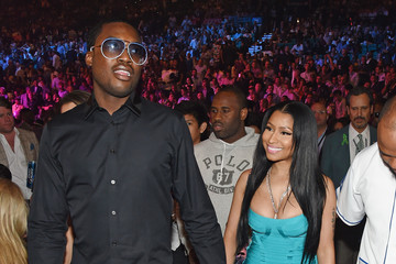 Nicki Minaj Ringside At 'Mayweather VS Pacquiao'