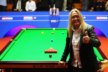 Nicko McBrain World Snooker Championship - Day Sixteen