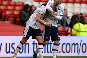 Nicky Bailey Nottingham Forest v Millwall - Sky Bet Championship