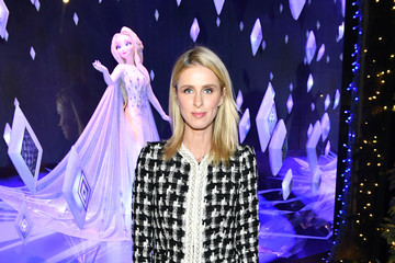 "Nicky Hilton Rothschild Disney And Saks Fifth Avenue Unveil ""Disney Frozen 2"" Holiday Windows"