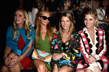 Nicky Hilton Front Row at Valentino