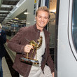 Nico Rosberg Bambi Trophy Travels From Munich To Berlin For Award Show