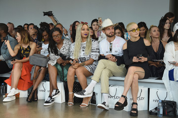 Nico Tortorella Nana Judy - Front Row - September 2018 - New York Fashion Week: The Shows
