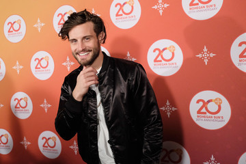 Nico Tortorella Kevin Hart Official After Party With DJ Ruckus as Part of Mohegan Sun's 20th Anniversary Celebration