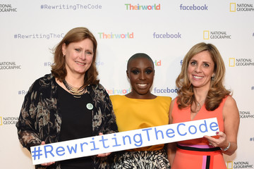 Nicola Mendelsohn Theirworld Launches New Campaign #RewritingTheCode at the International Women's Day Breakfast at Facebook HQ in London