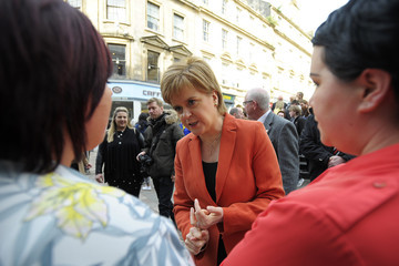 Nicola Sturgeon First Minister of Scotland Nicola Sturgeon on Campaign for General Elections