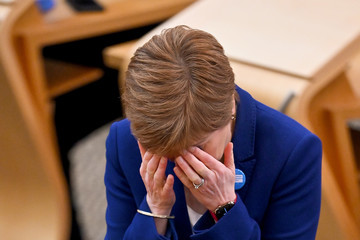 Nicola Sturgeon European Best Pictures Of The Day - October 08