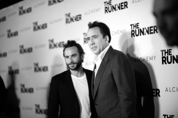 Nicolas Cage Austin Stark Guests Arrive at the Paper Street Films' Screening of 'The Runner'