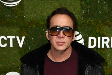 Nicolas Cage DIRECTV Lodge Presented by AT&T - Day 1