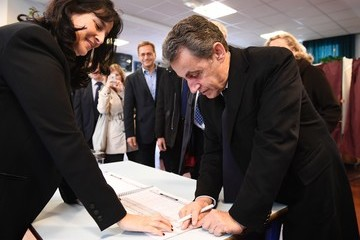Nicolas Sarkozy Nicolas Sarkozy Votes for 1st Right-Wing Primary Ahead of the 2017 Presidential Election