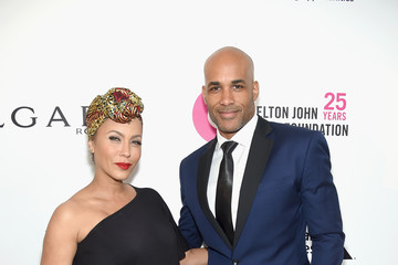 Nicole Ari Parker 26th Annual Elton John AIDS Foundation Academy Awards Viewing Party sponsored by Bulgari, celebrating EJAF and the 90th Academy Awards - Red Carpet