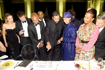Nicole Avant American Express And Pharrell Williams Host The Yellow Ball At The Brooklyn Museum In Support Of Arts Education Nationwide