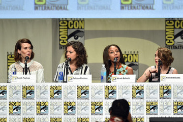 Nicole Beharie Entertainment Weekly: Women Who Kick Ass Panel And Presentation  - Comic-Con International 2014