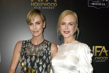 Nicole Kidman Charlize Theron 23rd Annual Hollywood Film Awards - Social Crops