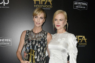 Nicole Kidman Charlize Theron 23rd Annual Hollywood Film Awards - Press Room