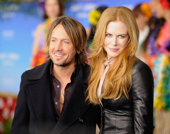 "Nicole Kidman Musician Keith Urban and actress Nicole Kidman attend the premiere of ""Just Go With It"" at Ziegfeld Theatre on February 8, 2011 in New York City."