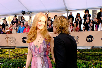 Nicole Kidman Keith Urban The 22nd Annual Screen Actors Guild Awards - Trophy Room