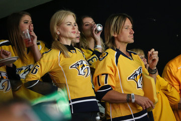 Nicole Kidman Keith Urban Celebrities Attend the 2017 NHL Stanley Cup Final - Game Three