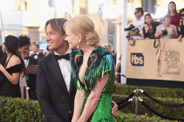 Nicole Kidman Keith Urban The 23rd Annual Screen Actors Guild Awards - Arrivals