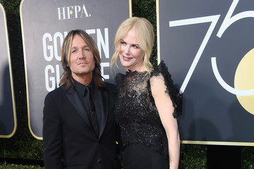 Nicole Kidman Keith Urban 75th Annual Golden Globe Awards - Arrivals