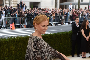 Nicole Kidman 'Manus x Machina: Fashion in an Age of Technology' Costume Institute Gala