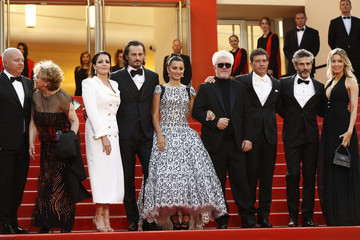 """Nicole Kimpel Director Pedro Almodovar """"Pain And Glory (Dolor Y Gloria/ Douleur Et Glorie)"""" Red Carpet - The 72nd Annual Cannes Film Festival"""