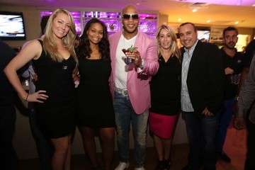 Nicole Lewis Flo Rida Launch Event